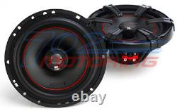 MB Quart 6.5 Inch Car Motorcycle Atv Speakers For Harley Davidson W Adapter Kit