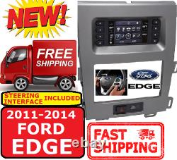 Metra 99-5848CH FOR 2011-14 FORD EDGE DOUBLE DIN CAR RADIO DASH KIT With A/C PANEL