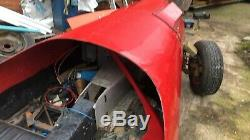 Moss monaco kit car unfinished for parts