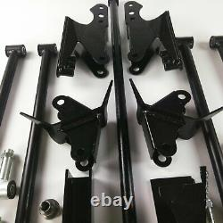 Parallel Rear Suspension Four 4 Link Kit for 41-48 Chevy Car fits tci shocks