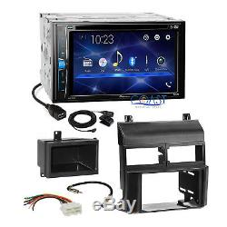 Pioneer 2018 Bluetooth Sirius Stereo 2Din Dash Kit Harness for 88-94 Chevy GMC