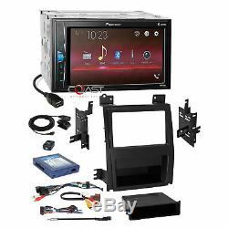 Pioneer 2018 Bluetooth Stereo Dash Kit Amp Harness for 07+ Cadillac Escalade