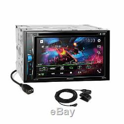 Pioneer 2018 DVD Bluetooth Stereo Dash Kit Bose Harness for Cadillac CTS SRX