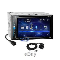 Pioneer 2018 DVD Bluetooth Stereo Dash Kit Harness for 02-05 Dodge Ram Truck
