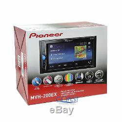 Pioneer 2018 USB BT Camera Input Stereo Dash Kit Harness for 2008+ Honda Accord