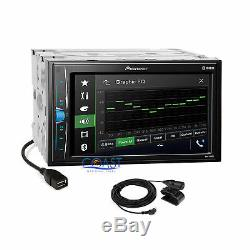 Pioneer 2018 USB Bluetooth Stereo Dash Kit Amp SWC Interface for 06+ Volkswagon