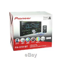 Pioneer CD Bluetooth MP3 Radio Stereo 2 DIN Dash Kit Harness for 1998-up Honda
