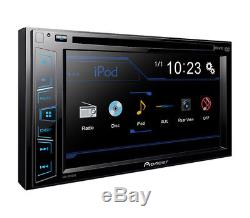 Pioneer Car DVD Touchscreen Stereo Dash Kit Harness for 2005-2011 Toyota Tacoma