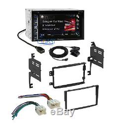 Pioneer Car Radio Double DIN Stereo Dash Kit Harness for 2006-2008 Nissan 350Z