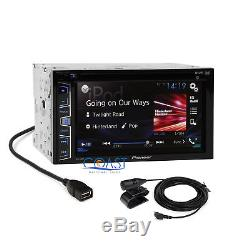 Pioneer Car Radio Stereo DDin Dash Kit Harness Antenna for 2009-2012 Ford F-150