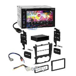Pioneer DVD Touchscreen Radio Stereo Dash Kit Harness for 2007-12 Nissan Altima