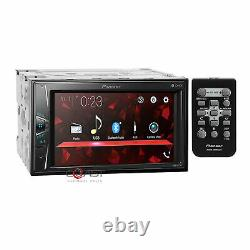 Pioneer MP3 USB BT Camera Input Stereo Dash Kit Harness for Chrysler Dodge Jeep