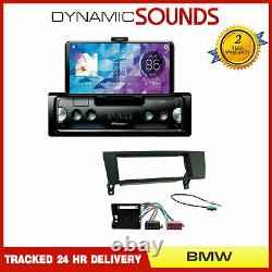Pioneer SPH-10BT Car Bluetooth Stereo + Fascia Fitting Kit for BMW 1 3 Series