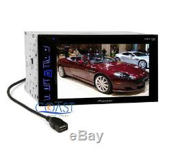 Pioneer Touchscreen Stereo Dash Kit Harness for 2013-2014 Hyundai Genesis Coupe