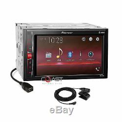 Pioneer USB BT Camera Input Stereo Dash Kit Harness for 2005-11 Toyota Tacoma