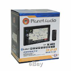 Planet Audio Bluetooth GPS Stereo Dash Kit Harness for 92-up Chevy GMC Pontiac