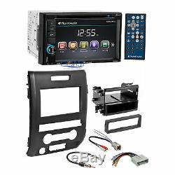 Planet Audio DVD USB Bluetooth Car Stereo Dash Kit Harness for 09-12 Ford F-150