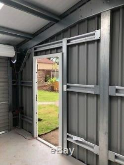 Steel Framed Double Garage kit Ideal Workshop Storage for Classic Car or Bike