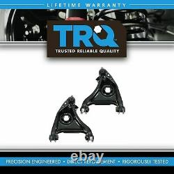 TRQ Front Lower Control Arms with Ball Joints Pair for 95-02 Ford Lincoln Mercury