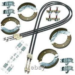 Trailer Brake Shoe & Cable Parts Service Kit For Indespension & Ifor Williams